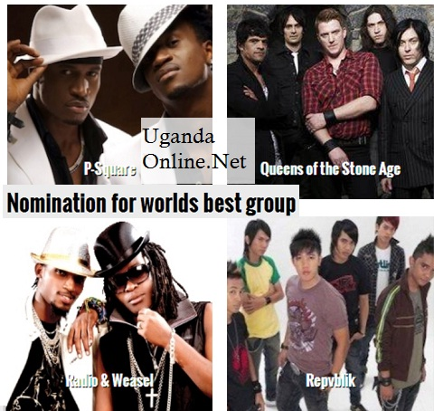 P-Square and Goodlyfe nominated in the World Best Group category