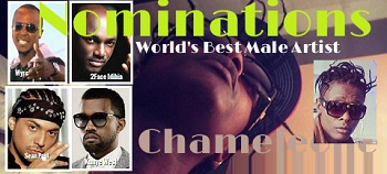 Chameleone nominated in the World's Best Male Artist