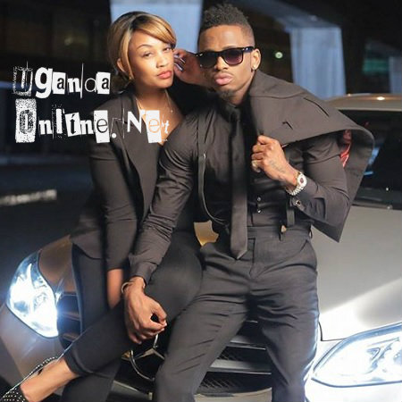 Diamond Platnumz feels Zari in this pose