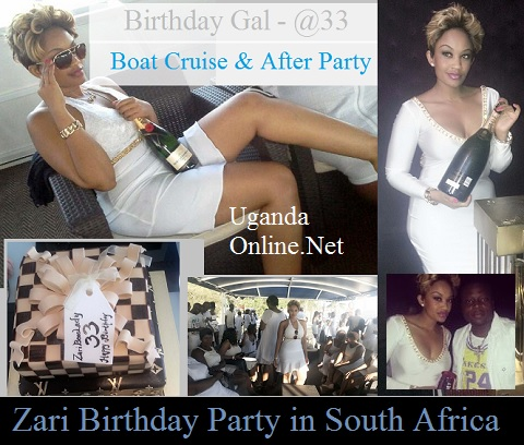 Zari during her birthday bash
