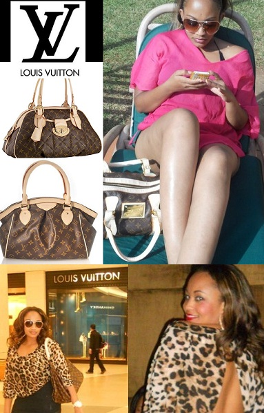 Zari and the Louis Vuitton designer hand bag that has created a debate
