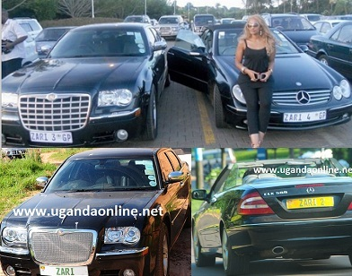 Zari's Chrysler and CLK
