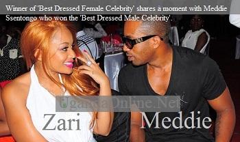 Zari and Meddie win fashion awards