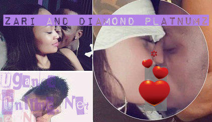 The Zari and Diamond Platnumz Kiss
