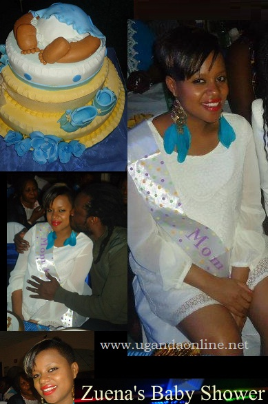 Zuena at her Baby Shower in the US