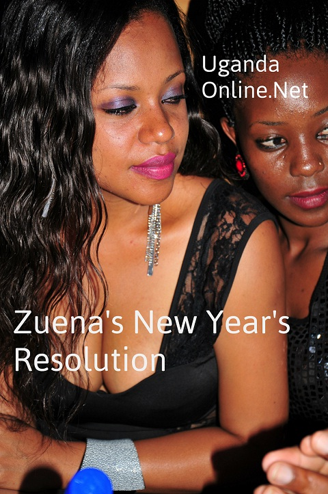 Zuena shares her new year's resolution