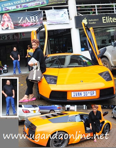 Zari's Lamborghini at Garden City