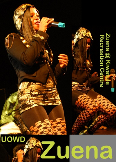 Zuena at Kiwatule- Bend Over Concert