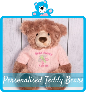 Buy personalised teddy bears online australia personalise your teddy bear with clothing embroidery and more perfect for special gift ideas keepsake baby gifts teddy bear keepsakes or just a cute negle Images