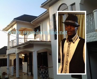 Chameleone at his Muyenga pad which is also the new home of LIME