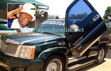 Chameleone's cars survived being torched